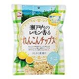 カモ井食品 瀬戸内のレモン香る れんこんチップス54g×5袋