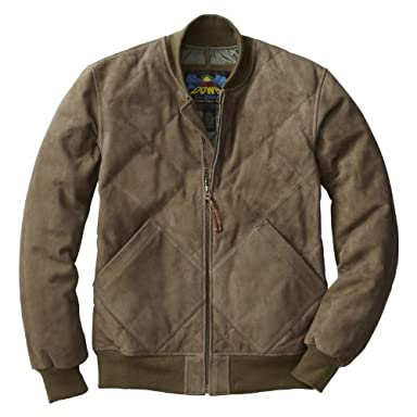Skyliner Model Goat Suede Jacket 799700: Ceder