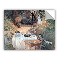 ArtWall Claude Monet's Garden Picnic Art Appeelz Removable Graphic Wall Art, 14 by 18' [並行輸入品]
