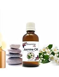 Jasmine Oil (Jasminum Grandiflorum) Essential Oil 10 ml or 0.33 Fl Oz by Blooming Alley