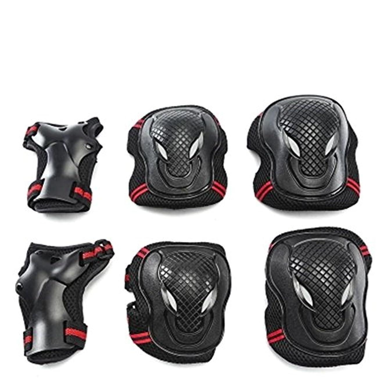 ジェスチャー再現する役立つ自転車の膝パッドバランス膝パッド子供の屋外手首の肘サイクリング安全装置