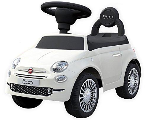 足けり乗用玩具 フィアット500 足けり乗物玩具 FIAT500 足けり玩具正規ライセンス (ホワイト)