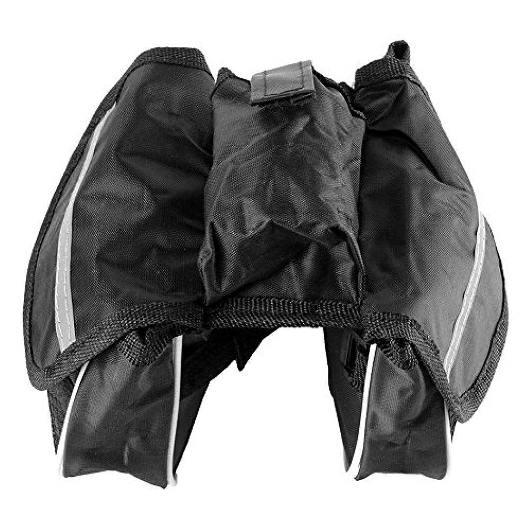 増幅器個人的に透過性k-outdoor 自転車バッグ 防水 かばん 電話ケース フロントチューブバッグ ハンドルバー フレーム アウトドア パッケージ