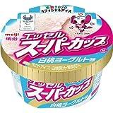 明治 エッセルスーパーカップ 白桃ヨーグルト味200ml×24個