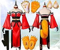 Fate/Grand Order タマモキャット コスプレ衣装+ ウィッグ ( フルセット) オーダー可能