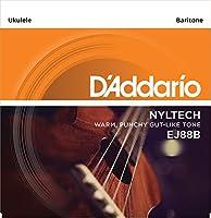 D'Addario EJ-88B Pro-Arté Nyltech バリトン EJ88B (Aquila社共同開発) ダダリオ ウクレレ弦【国内正規品】