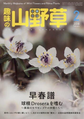 趣味の山野草 2018年 02 月号 [雑誌]