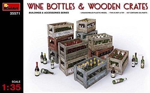 ミニアート 1/35 ワインボトル & 木枠箱 プラモデル MA35571の詳細を見る