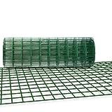 侵入防止 くぐり抜け防止金網 奥行0.60×長さ15m 【亜鉛メッキ+PVC加工】