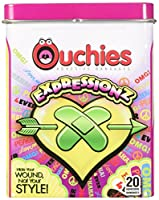 Ouchies Expression Adhesive Bandages, 20 Count by Ouchies