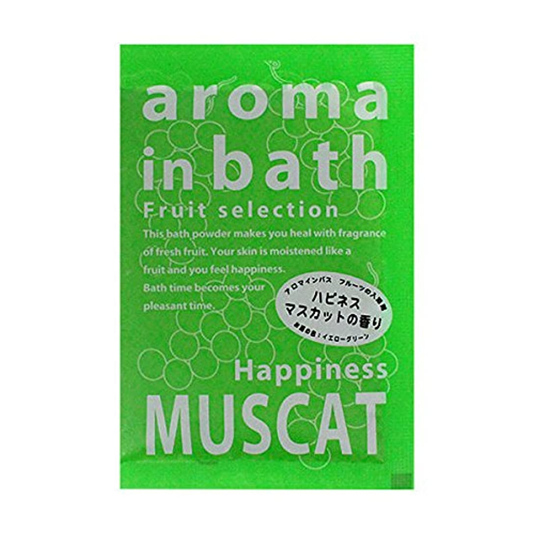 第四コーヒー区別入浴剤 アロマインバス 「マスカットの香り」30個