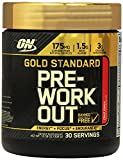 Optimum Nutrition Gold Standard Pre-Workout 30 Serve Supplement, Fruit Punch 300 Gram 栄養ゴールドスタンダードプレワークアウトサプリメントフルーツポンチ [並行輸入品]