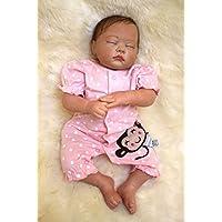 20インチソフトシリコンReborn Baby Sleeping人形おもちゃリアルな赤ちゃんReal Touchベビー人形by annedoll