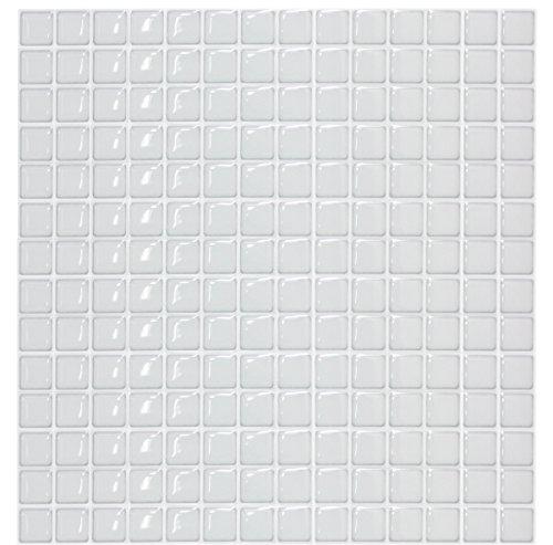 Dream Sticker キッチンタイルシール モザイクタイルシール (31×31cm 正方形) スノー TS-4200-BST-11