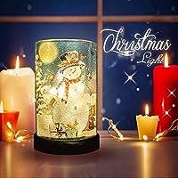 ガラスストレートチューブランプ–クリスマス工芸品を使用や屋内と屋外の装飾のクリスマスプレゼントとして。Toプラグで、持ち運びに便利、必要はありませんCan Put In各コーナーのホーム、デコラ ブルー