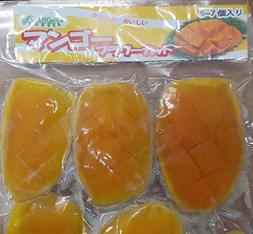 マンゴー フラワーカット 500g(ケ約70-100g)×20P 業務用 冷凍 トロピカルマリア