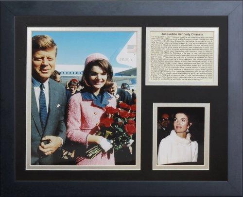 """ジャッキー・kennedy-onassis 11"""" x 14インチフレーム写真コラージュby Legends Never Die , Inc。"""