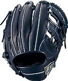 ZETT(ゼット) 軟式野球 ネオステイタス グラブ (グローブ) オールラウンド用 新軟式ボール対応 ナイトブラックB(1900NB) 右投げ用 BRGB31930