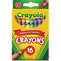 Crayola Classic Color Pack Crayons 16 ea ( Pack of 8) [並行輸入品]
