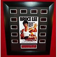 ■ドラゴンへの道■THE WAY OF THE DRAGON (1972)■ブルース リー as タン ロン■Bruce Lee as Tang Lung■フィルムセル+ミニポスター額装品(12-1)