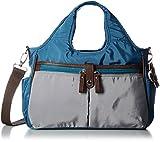 [ソフィアバレンチノ] ショルダートートバッグ フラワーチャーム付 2WAY 1612-4832 ブ ブルー