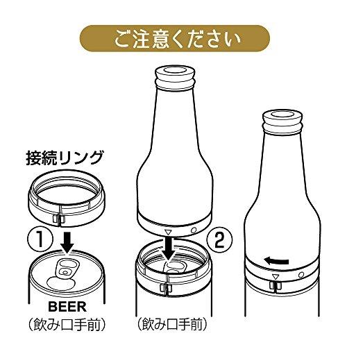 DOSHISHA(ドウシシャ)『絹泡ビンタイプ缶用(DKB-18)』