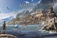 Trends International Assassin's Creed: オデッセイ - シーウォールポスター マルチ RP17084