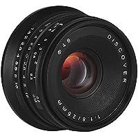 サインソニック 25mm f1.8 MF レンズ ソニーEマウント用 NEX α6000 マニュアルフォーカス
