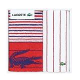 LACOSTE Lエスポワール スポーツ フェイスタオルセット レッド