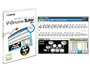 Roland ローランド 電子ドラム 練習ソフトウエア DT-1