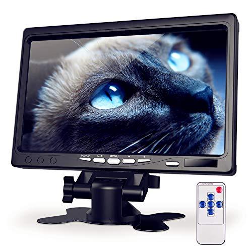 Kuman 7インチ 1080P HDMI 液晶モニター Raspberry Pi用 ディスプレイ 日本語マニュアル カメラ監視用/DSLR...