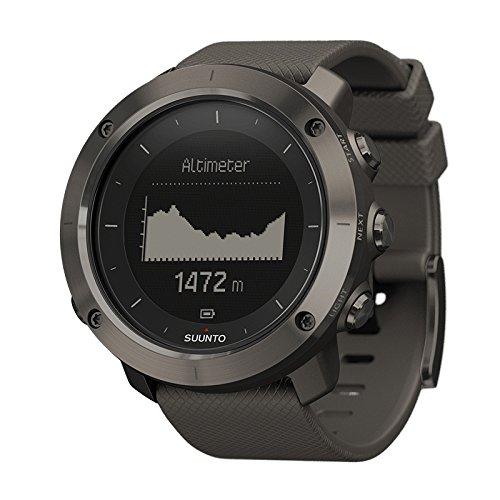 SUUNTO(スント) Traverse (トラバース) GPS搭載 ナビゲーション ルート作成可能 トレッキング 登山 グラファイト [並行輸入品]