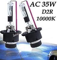 FidgetGear Xenon D2R 10000k HID Headlight Replacement Bulbs Light For Mercedes Benz S500 U1