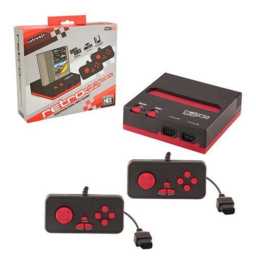 NESレトロ・エンターテインメントシステム(ブラック/レッド)