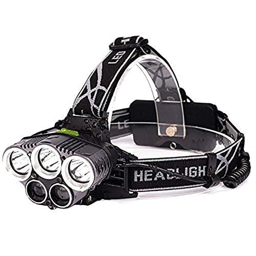 西部メロディアス体操HSBAIS こどもに対してヘッドライト ヘッドランプ LED、USB 充電式 高輝度 防水 軽量 調整可能 ヘッドバンド ヘルメットライト,black