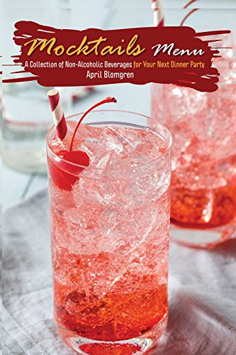 amazon mocktails menu a collection of non alcoholic beverages for