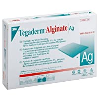 Tegaderm Alginate Ag Silver Dressing 4 x 5 (Box of 10 Each) by 3M Healthcare Corp