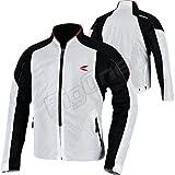 RSタイチ(アールエスタイチ)バイクジャケット ホワイト/ブラック (サイズ:M) クルーメッシュジャケット RSJ317