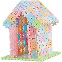 KESOTO 早期教育玩具 知育玩具 ビルディングブロック 積み木 ブロック 約280個パック