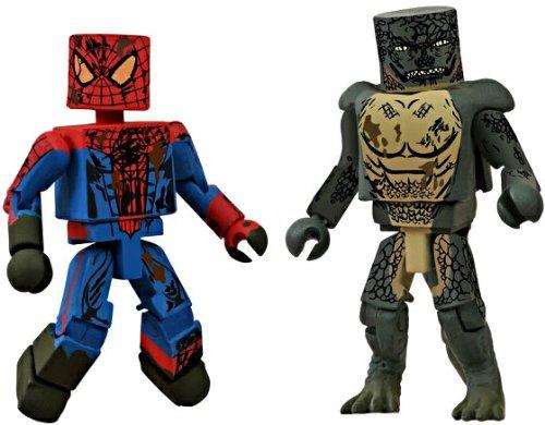 SDCC2012 マーべル ミニメイツ アメイジング・スパイダーマン&リザード フィギュア 並行輸入品