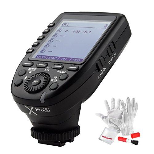 【正規品 技適マーク付き】GODOX Xpro-S 送信機 TTL2.4Gワイヤレスフラッシュトリガー 遠隔制御 高速同期 HSS 1 / 8000s Xシステム Sony一眼レフカメラ対応