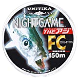 ユニチカ(UNITIKA) ライン ナイトゲーム ザ・アジFC 150m ナチュラルクリアー2.5LB ナチュラルクリアー