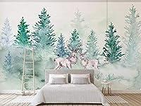 Minyose 壁紙 カスタム任意のサイズの3D壁の壁紙リビングルーム現代のファッション美しい蘭の写真壁画の壁紙家の装飾