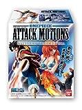 ワンピース ATTACK MOTIONS ~BATTLE OF DEEP SEA~ 10個入 Box (食玩)