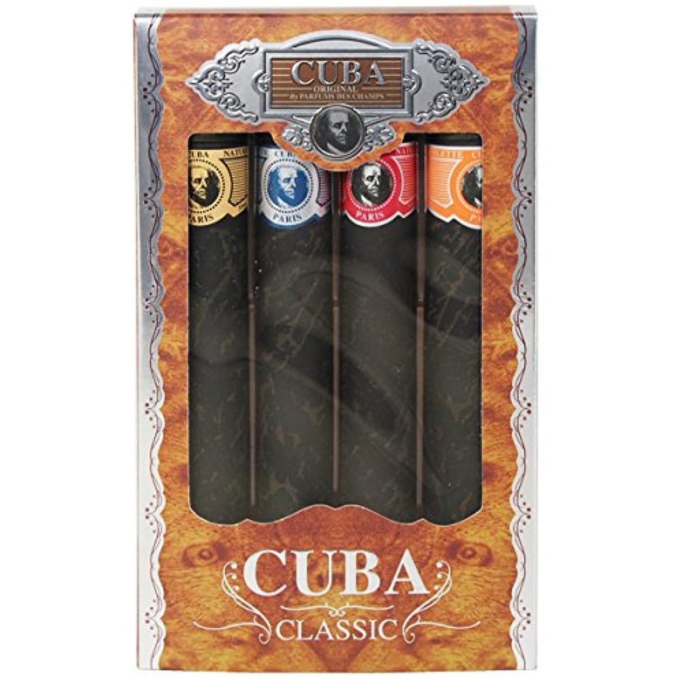 キューバ 4シガレッツ ギフトセット 35ml×4 【キューバ】 [並行輸入品]