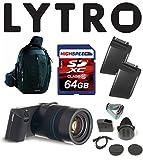 Lytro ILLUMライトフィールドデジタルカメラバンドルW/64GB、バックパック、Lytroバッテリーb2–0022