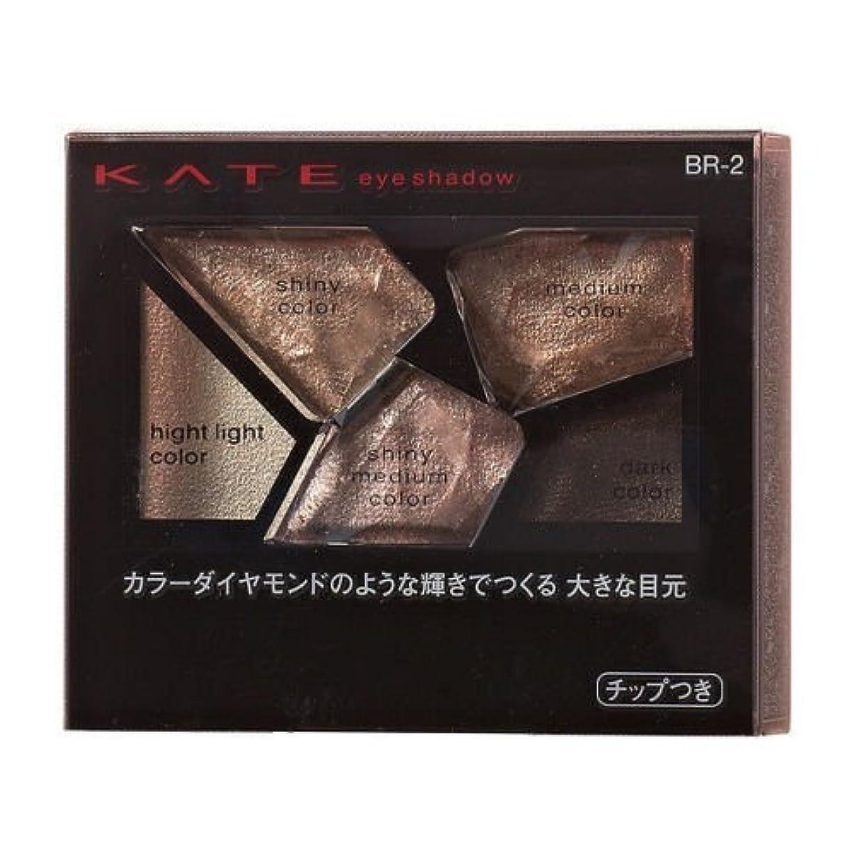 呼吸マンモス病【カネボウ】ケイト カラーシャスダイヤモンド #BR-2 2.8g