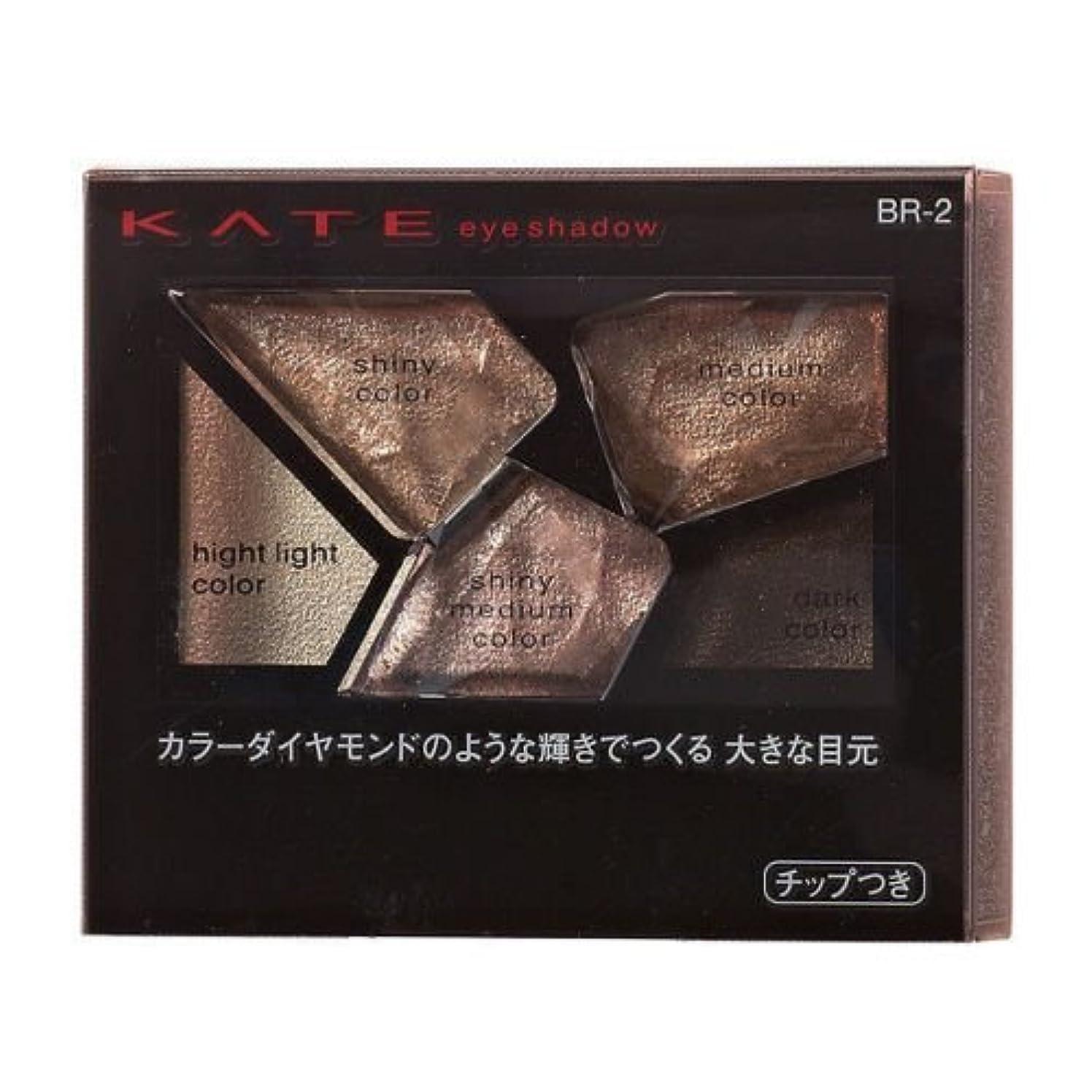添加剤語租界【カネボウ】ケイト カラーシャスダイヤモンド #BR-2 2.8g