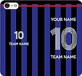 iPhone/Xperia/Galaxy/他機種選択可:好きな番号/名前/チーム名をカスタム/サッカー手帳ケース(品番:JP_05) 01 iPhone5/5s/SE