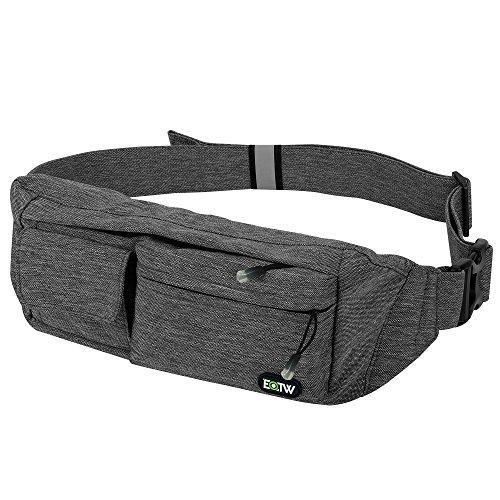 EOTW®多機能ウエストバッグ ツーリング 散歩 遠足 ランニング アウトドア ウエストポーチ(ポケット四つ)